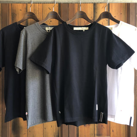 CUTOFF T-SHIRT【BLACK】/ BS-CS04-bk