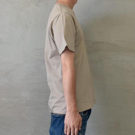 CUTOFF T-SHIRT【BEIGE】/ BS-CS04-BG