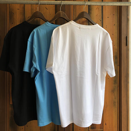 "BIG  T-SHIRT ""BIG BLUE""【WHITE-RED】/ BS-BCSP01-WH-RE"