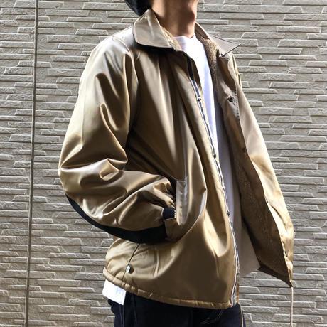 COACH JACKET【BEIGE】/  BS-S4-JK01-BG