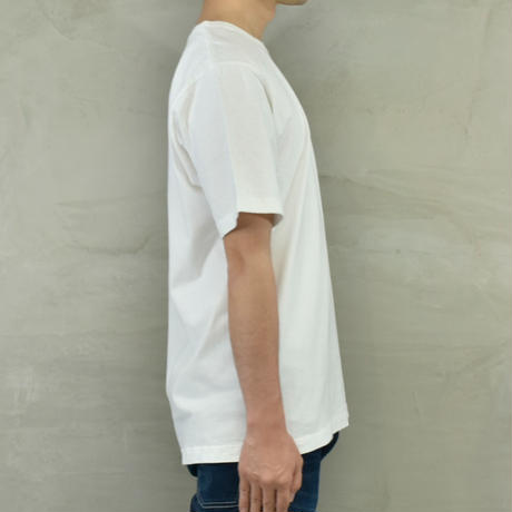 "T.C.B×BLUE SAKURA Collaboration T-SHIRT ""LOGO""【WHITE】/ TCB*BS-CS03-WH"