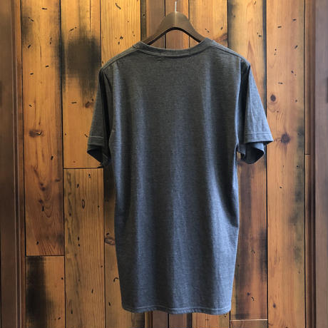 ROUND T-SHIRT【DARK GRAY】/ BS-CS02-dg