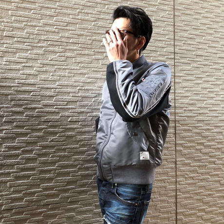 MA-1 JACKET - BS-S3-JK03 【GRAY】