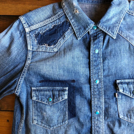 DENIM SHIRT H/USED / BS-S3-SH01