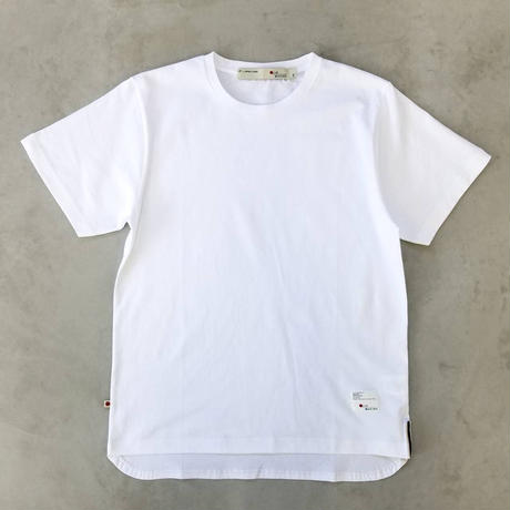 ROUND T-SHIRT【WHITE】/ BS-CS02