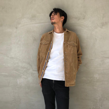 "CPO JACKET ""CORDUROY""【BEIGE】/  BS-S5-JK01-BG"