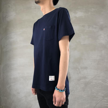 STEP T-SHIRT【NAVY】/ BS-CS03