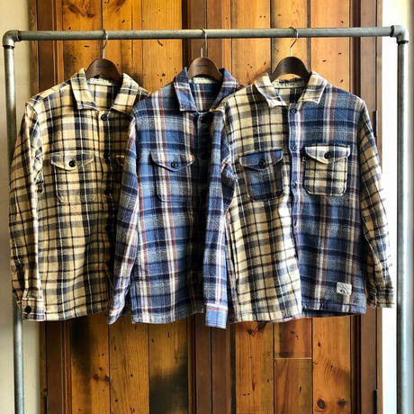 "CPO JACKET ""CHECK""【BEIGE】/  BS-S5-JK02-BG"