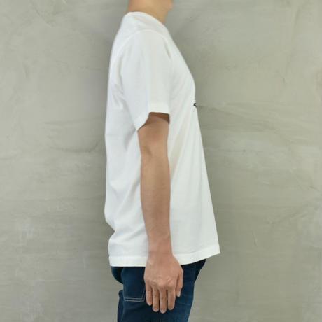 "T.C.B×BLUE SAKURA Collaboration T-SHIRT ""CAT""【WHITE】/ TCB*BS-CS02-WH"