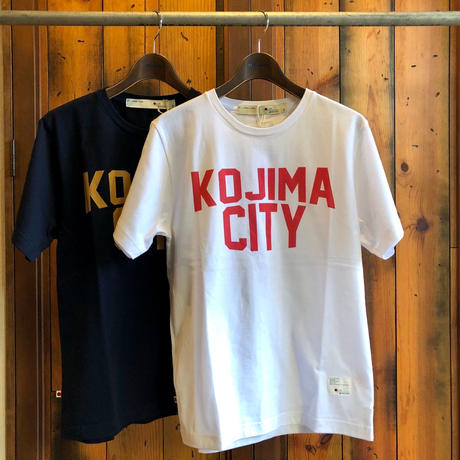 KOJIMA CITY PRINT T-SHIRT 【W-RE】/ BS-CS1-01