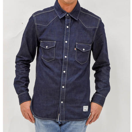DENIM SHIRT OW / BS-SH07