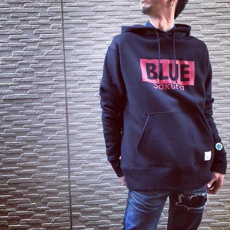 """CLASSIC VINTAGE HOODIE  """"LOGO B""""【BLACK】  / BS-SWP02-BK"""