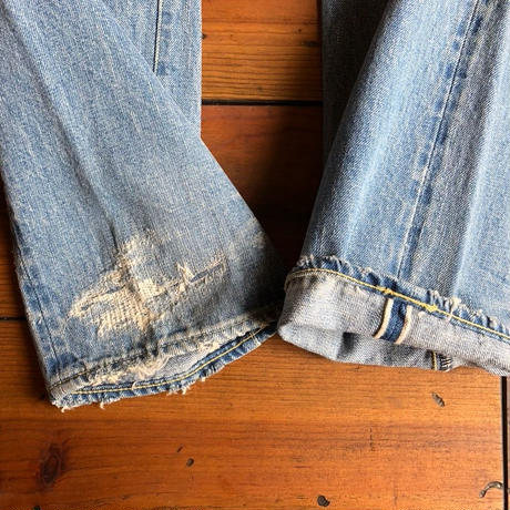 TCB × BLUE SAKURA Collaboration Jeans / TCBBS-DP01