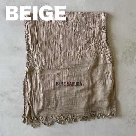 "T.C.B×BLUE SAKURA Collaboration  ""LOGO"" VIYELLA  STOLE【3coloers】/ AC27-TCB-logo"