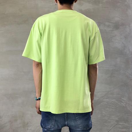 """BIG  T-SHIRT """"BIG BLUE""""【LIME-LEMON】/ BS-BCSP01-LM-LE"""