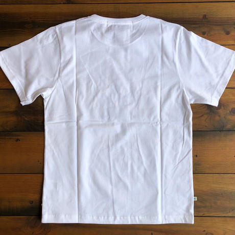 "BASIC T-SHIRT  ""COLLEGE""【WHITE】/ BS-S3-CS1-04-WH"