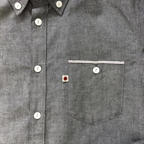 VINTAGE OXFORD SHIRT【GRAY】/ BS-SH13