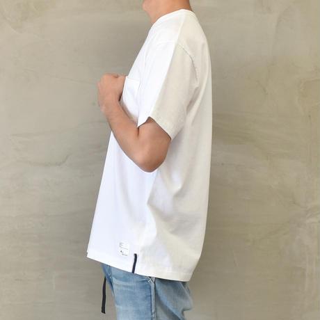 "SURE×BLUE SAKURA Collaboration T-SHIRT ""COFFEE AND DENIM""【WHITE】/ SURE*BS-CS01-WH"