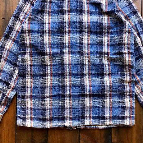 "CPO JACKET ""CHECK""【BLUE】/  BS-S5-JK02-BL"