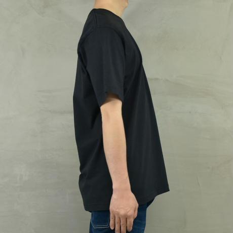 "T.C.B×BLUE SAKURA Collaboration T-SHIRT ""LOGO""【BLACK】/ TCB*BS-CS03-BK"