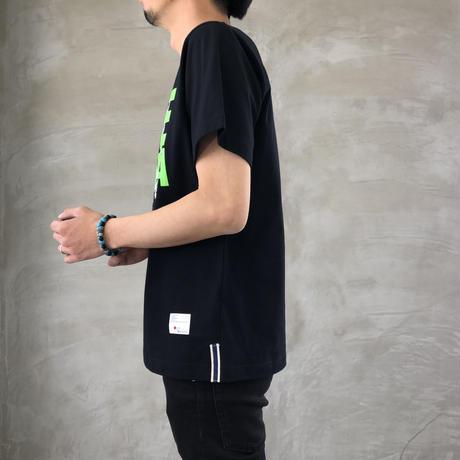 "BASIC T-SHIRT  ""DEER"" 【BLACK】/ BS-S4-CSP03-BK"