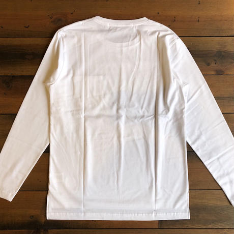 STEP LONG SLEEVE T-SHIRT 【WHITE】/ BS-LCS03-WH(N)