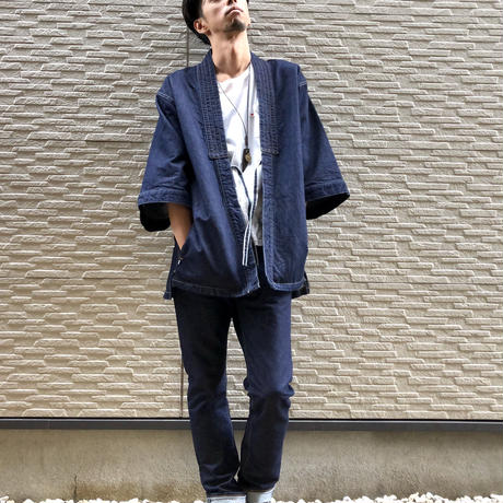 """DENTO"" KIMONO JACKET ""WASHI ver"" / BS-DNT-SW05"