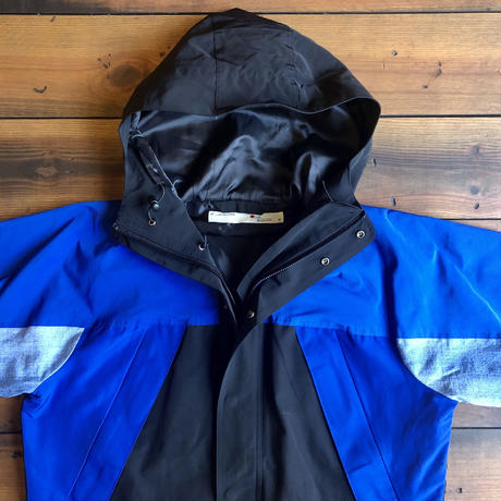 MOUNTAIN PARKA 【BLACK×BLUE】 / BS-S4-JK02-BKBL