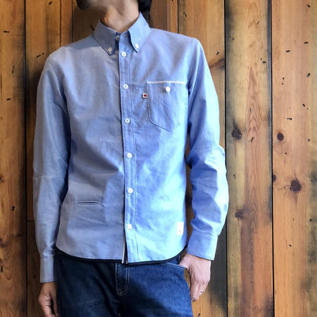VINTAGE OXFORD SHIRT【BLUE】/ BS-SH13