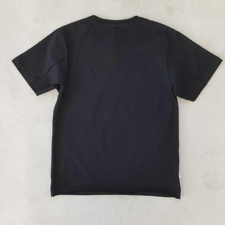 CUTOFF T-SHIRT【BLACK】/ BS-CS04-bk