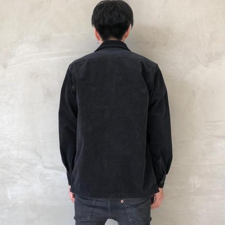 "CPO JACKET ""CORDUROY""【BLACK】/  BS-S5-JK01-BK"