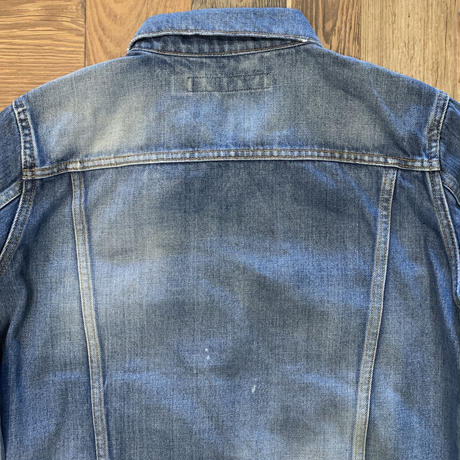 DENIM JACKET 3rd type USED / BS-JK06