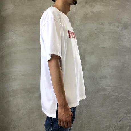 "BIG  T-SHIRT ""BOX LOGO""【WHITE】/ BS-BCSP03-WH"