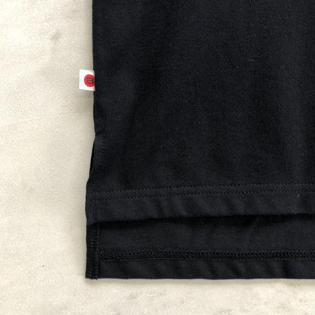 "BIG  T-SHIRT ""BOX LOGO""【BLACK】/ BS-BCSP03-BK"