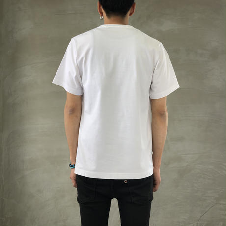 "BASIC T-SHIRT  ""DEER"" 【WHITE】/ BS-S4-CSP03-WH"