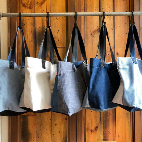 RANDOM DENIM TOTE BAG / AC13