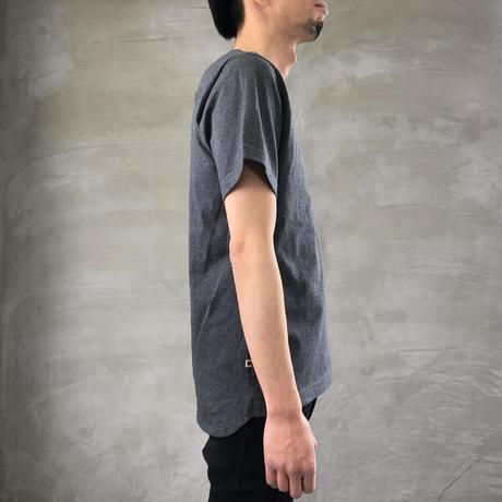 ROUND T-SHIRT【DARK GRAY】/ BS-CS02-dg