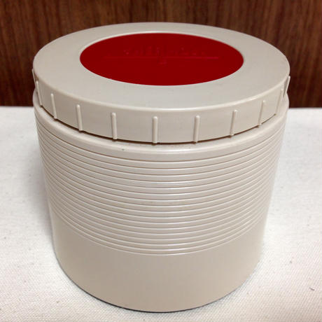 vintage thermos insulated jar 1155 creamxred