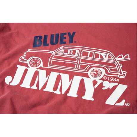 BLUEY×JIMMY'Z S/S TEE / RED / 15B20AC23SR