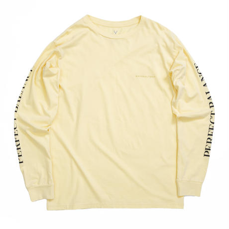PERFECT BALANCE L/S TEE / YELLOW  / 13B19TS30FB