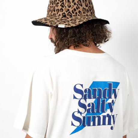 SANDY SALTY SUNNY S/S TEE / OFF×BLUE / 15B20TS14FB