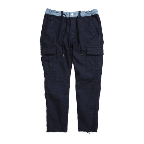 CROPPED CARGO PANTS /  NAVY / 13B19PA15SA