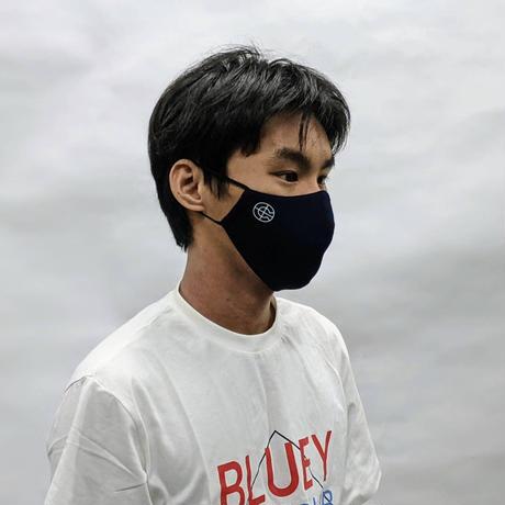 【カバロスウィザード真夏用限定モデル】COVEROSS PROTECT AIR  FACE MASK / NAVY