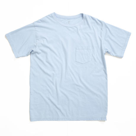 BLUEY FOAM POCKET TEE /  SAX / 13B19TS29FB