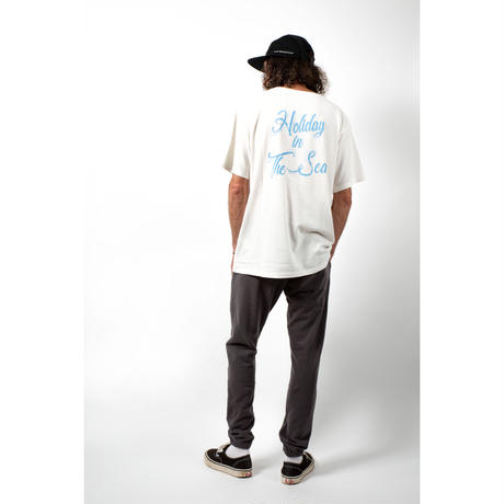 HOLIDAY IN THE SEA S/S TEE / OFF×NAVY / 15B20TS15FB