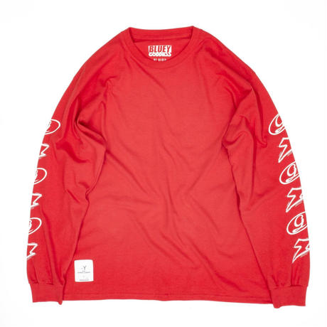BLUEY×GODDESS L/S TEE / RED / 15B20TS29MP