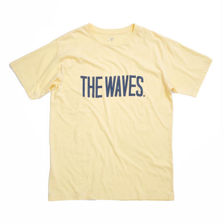 THE WAVES S/S TEE /  YELLOW / 13B19TS25FB