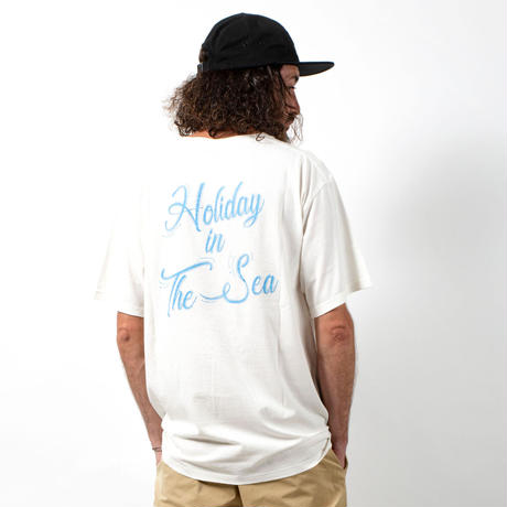 HOLIDAY IN THE SEA S/S TEE / OFF×BLACK / 15B20TS15FB