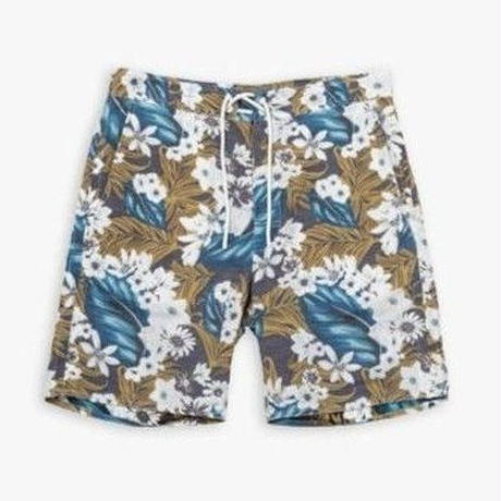 LINEN NYLON SURF SHORTS / BOTANICAL / 11B18PA13SE