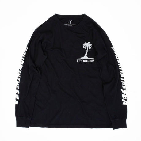 HOLIDAY IN THE SEA L/S TEE / BLACK / 15B20TS18FB